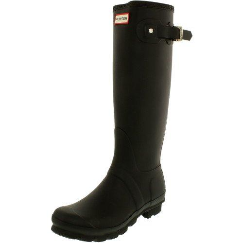 Hunter 'Original Tall' Rain Women's Boot (Matte) - Black [Size 8 M]
