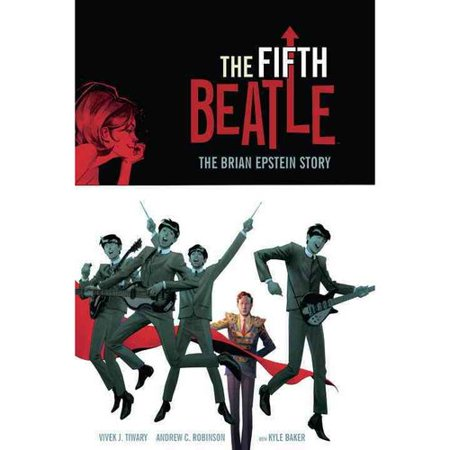 The Fifth Beatle - by Vivek J Tiwary (Hardcover)