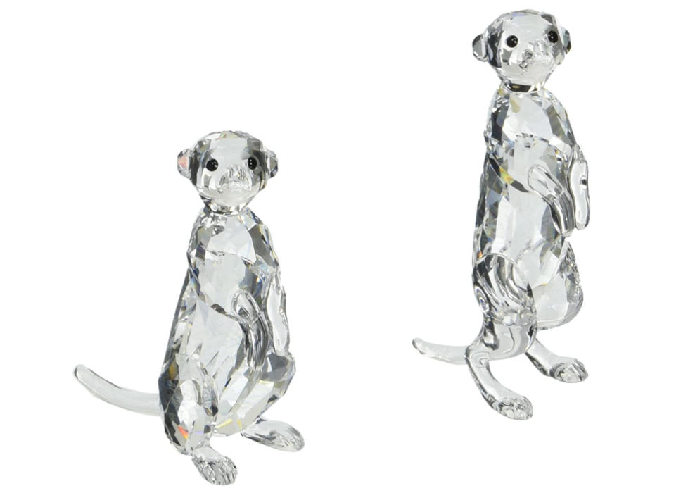 Swarovski Meerkats **MISSING ONE AS-IS**