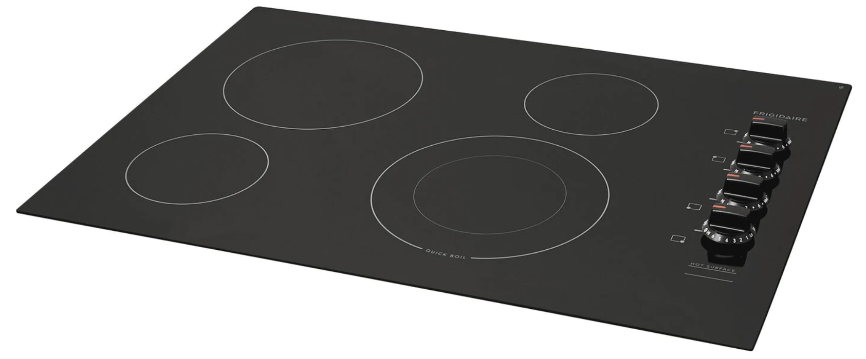 "Frigidaire 30"" 4-Element Electric Cooktop (FFEC3025UB) - Black"