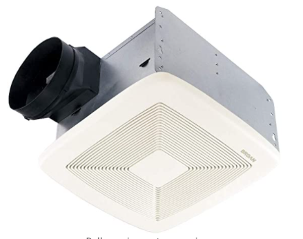 Broan-NuTone XB110 Single-Speed Fan, Ceiling Room-Side Installation Bathroom Exhaust Fan,  6""