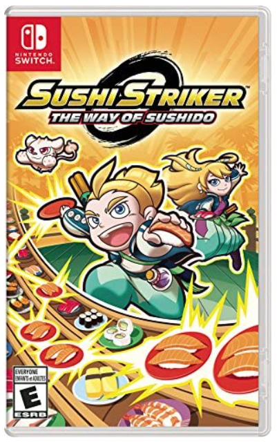 Sushi Striker: The Way of the Sushido - Switch