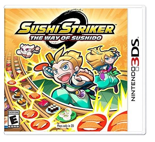 Sushi Striker: The Way of The Sushido - Nintendo 3DS