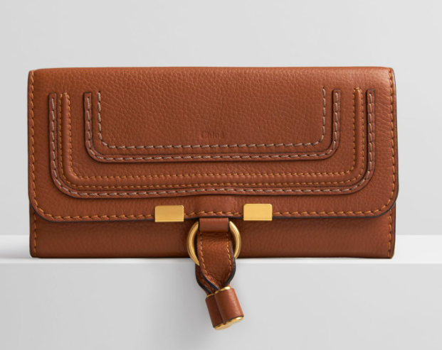 CHLOÉ Marcie Leather Flap Wallet