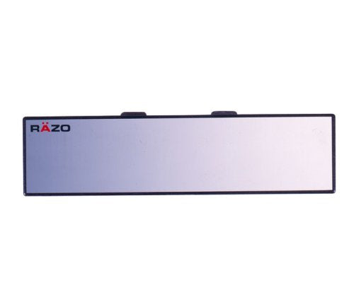 "Car Mate Razo RG23 11.8"" Black Frame Wide Angle Convex Rear View Mirror"