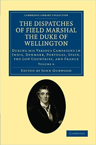The Dispatches of Field Marshal the Duke of Wellington (Volume 6) (Paperback)