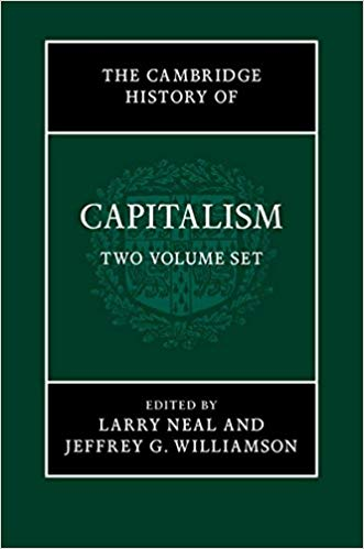 The Cambridge History of Capitalism 2 Volume Hardback Set