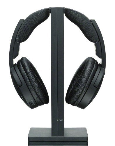 Sony MDR-RF985RK Wireless RF Black Headphone