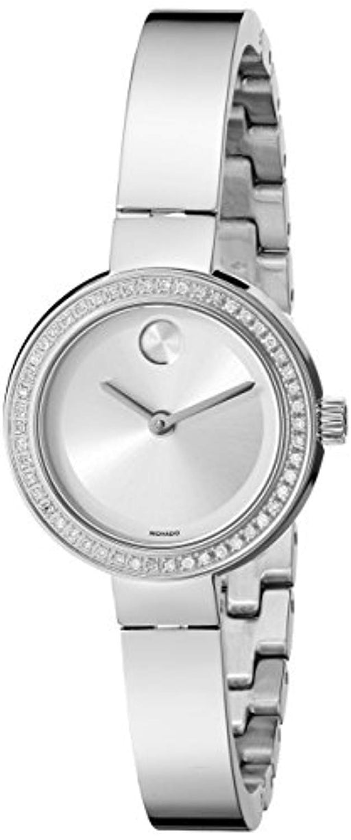 Movado Women's 3600321 Analog Display Swiss Quartz Silver-Tone Watch