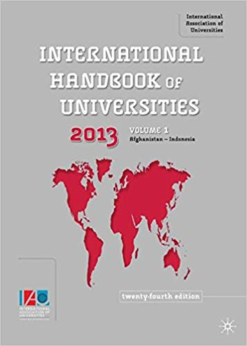 International Handbook of Universities 2013 [24th Edition] (Volume 1-3) *Visible Wear*