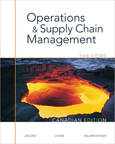 Operations and Supply Chain Management: The Core, Canadian Edition (Paperback)