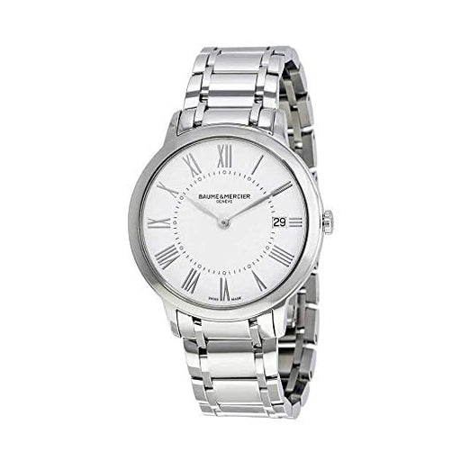 Baume et Mercier Classima White Dial Ladies Watch 10261 *Light Wear*