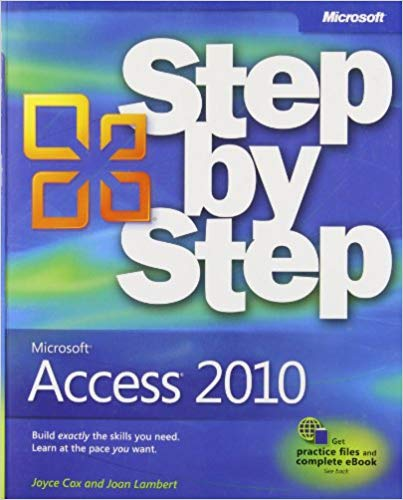 Microsoft Access 2010 Step by Step Paperback