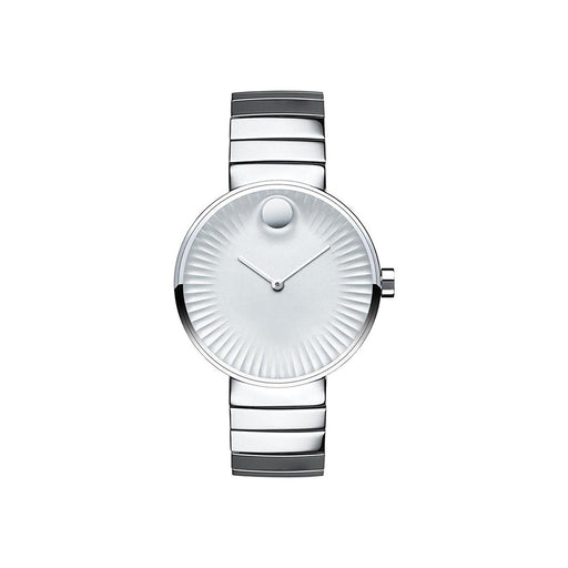 Movado Edge Silver Dial Stainless Steel Ladies Watch 3680012 *LIGHT BLEMISHES*