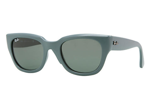 Ray-Ban Square Sunglasses RB4178 891-71 Green/Gray 4178 (Scratches on Lens)