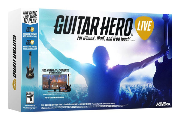 Guitar Hero Live iOS Bundle (Standard Edition)