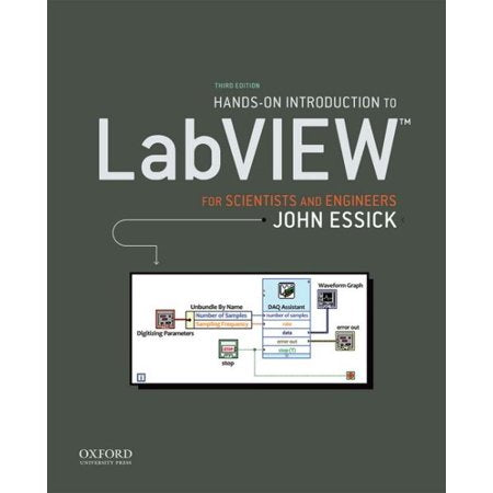 Hands-On Introduction to LabVIEW for Scientists and Engineers Paperback