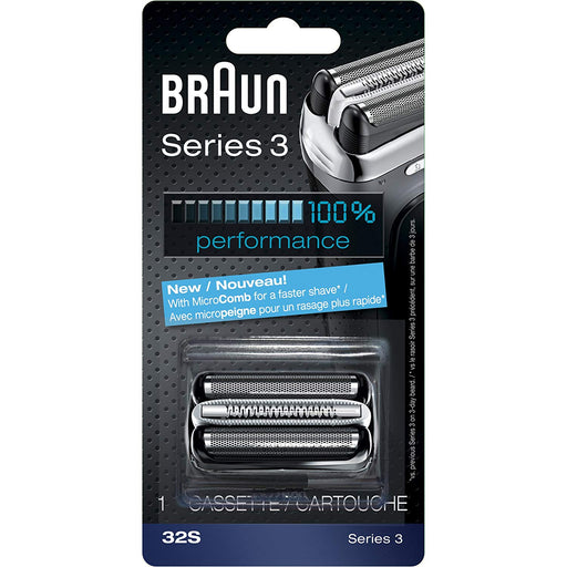 Braun Series 3 30b Foil & Cutter Replacement Head, Compatible 7000/4000 Shavers *BRAND NEW*