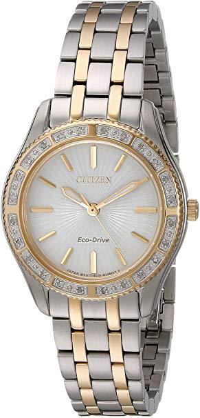 Citizen Ladies Two Tone Watch *Heavy Wear*