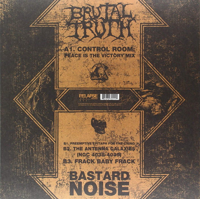 "Bastard Noise - The Axiom Of Post Inhumanity (12"" Vinyl)"
