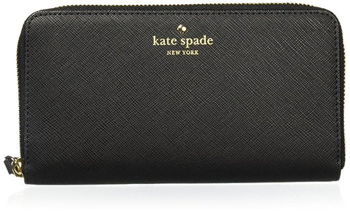Kate Spade New York Cameron Street Lacey Wallet - Black *Zipper Pull Broken*