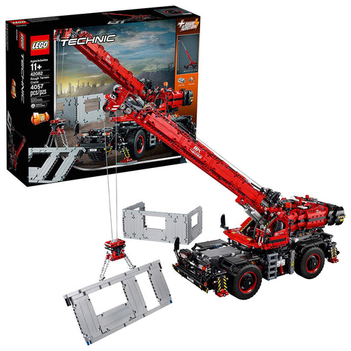 LEGO Technic Rough Terrain Crane 42082 Building Kit (4057 Pieces)