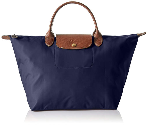 Longchamp L1899089001 Le Pliage Large Nylon Shoulder Tote - Navy Blue