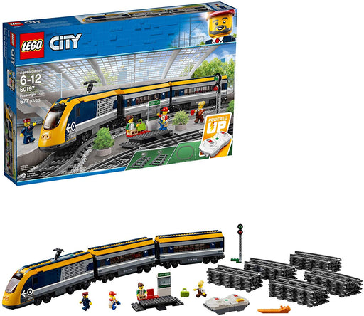 LEGO City Passenger Train Building Kit (677 Piece)