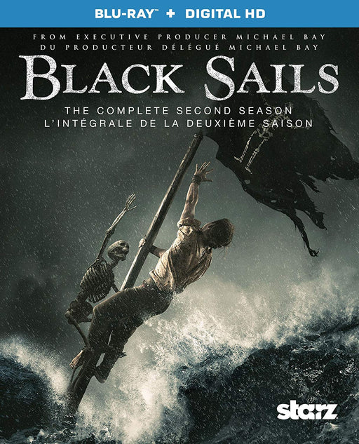 Black Sails: The Complete Second Season (blu-ray+digital HD)