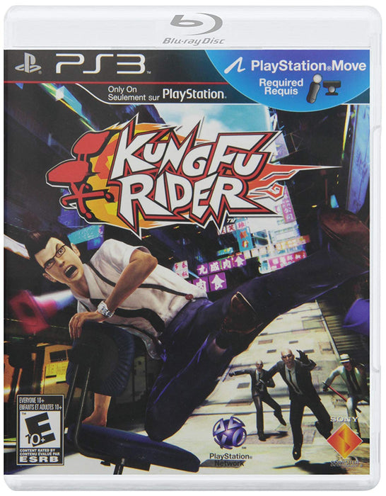 Kung Fu Rider (Play Station 3)