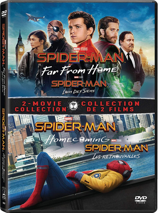Spider-Man: Far from Home / Spider-Man: Homecoming - Set (Bilingual) (DVD)
