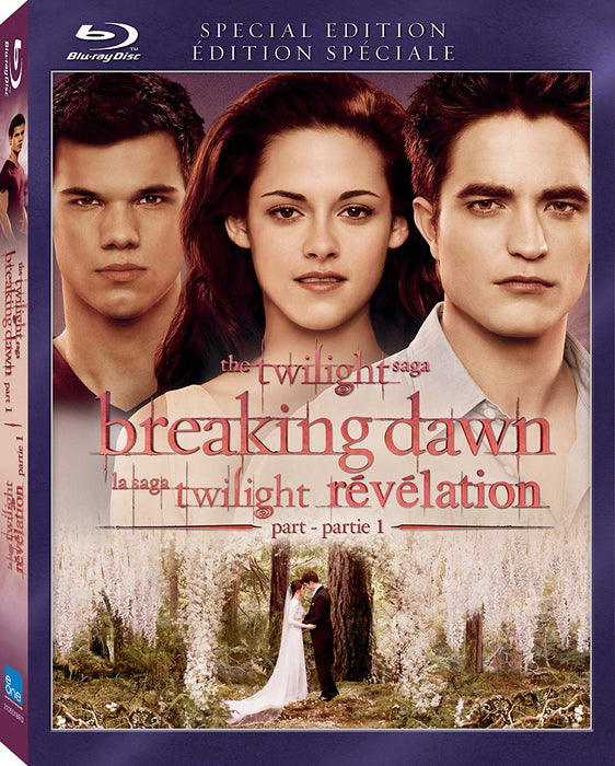 Twilight Saga - Breaking Dawn - Part 1 (Bilingual) [Blu-ray]