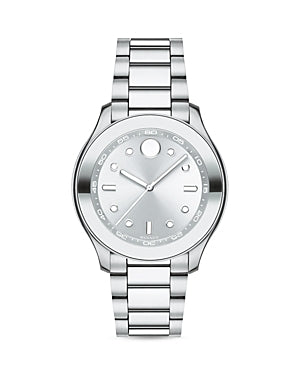 Movado Bold Stainless Steel Ladies Watch 3600415 *Light Blemishes on Band*
