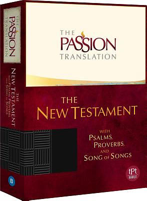 The Passion Translation New Testament (Black)