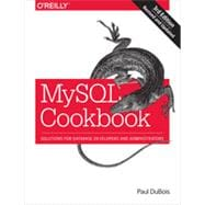 MySQL Cookbook: Solutions for Database Developers and Administrators Paperback