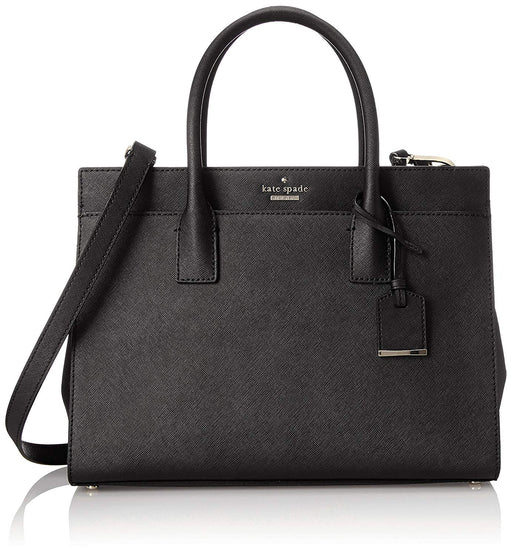Kate Spade New York Cameron Street Candace Satchel Bag- Black