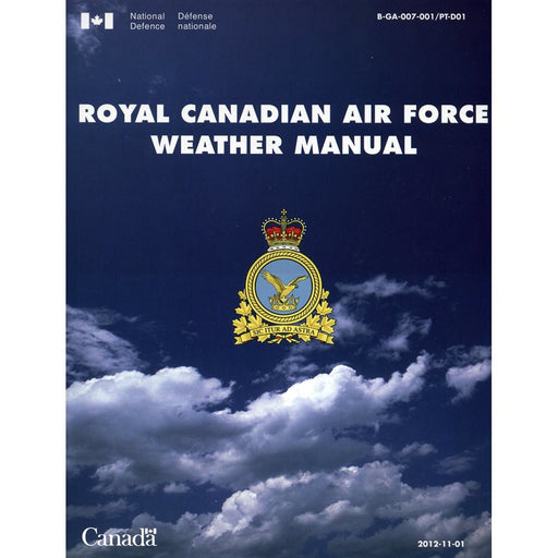 Royal Canadian Air Force Weather Manual Paperback