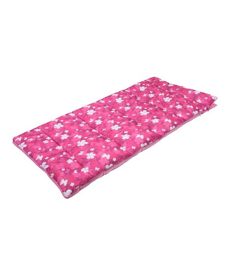 Exxel Outdoors Sleeping Bag - Pink Butterfly