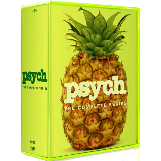 Psych: The Complete Series [31 Discs] *Slight Wear*