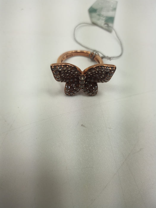 Swarovski Rose Gold Sterling Size 5 **MISSING BOX**