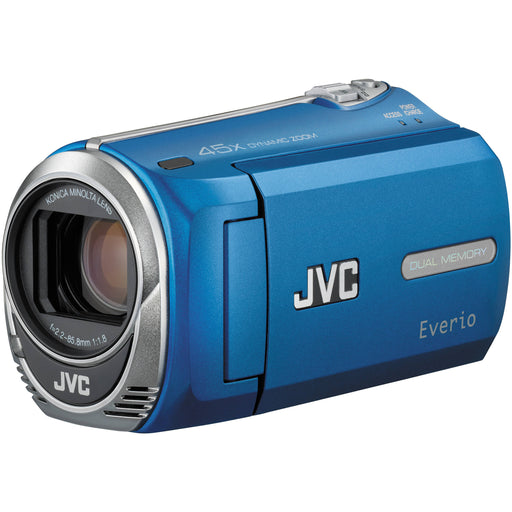 JVC GZ-MS230AU Everio S Flash Memory Camcorder Camera - Blue *AS-IS/FOR PARTS ONLY*