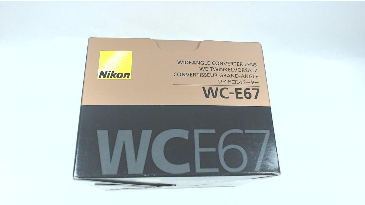 Nikon WC-E67 Wide Angle Conversion Lens for P5000/P5100