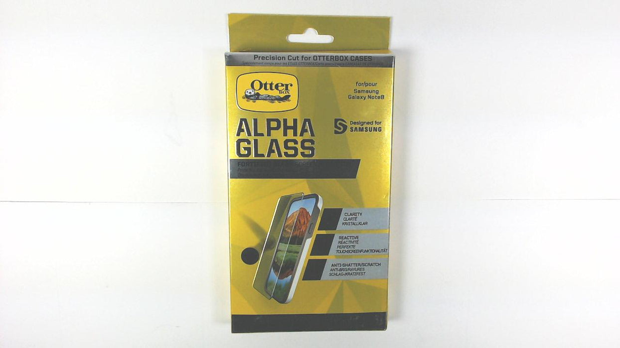 best sneakers 9bfc0 7b087 Otter Box Alpha Glass Screen Protector for Galaxy Note 8