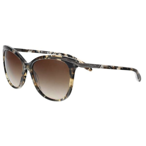 Ralph Lauren RA5203 1462/13 Brown Marble Cat Eye Sunglasses