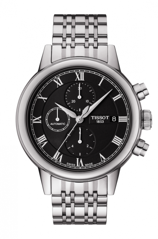 Tissot Carson Automatic Chronograph T085.427.11.053.00 Men's Watch *Visible Wear*