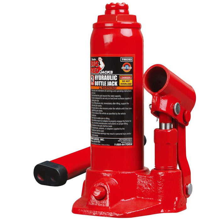 Big Red Vehicle Jacks 2-Ton Torin Bottle Jack T90203S