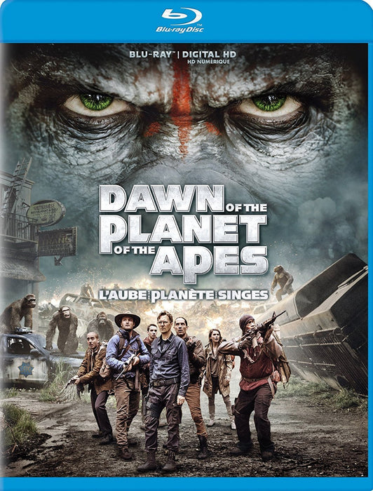 Dawn of the Planet of the Apes (Blu- Ray)
