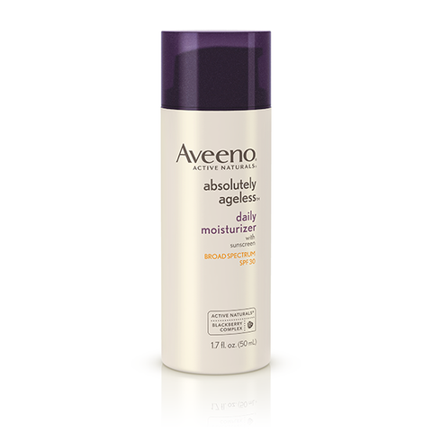 Aveeno Absolutely Ageless Daily Facial Moisturizer with Broad Spectrum SPF 30 Sunscreen (1.7 oz)