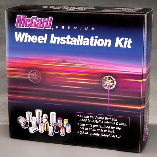 McGard 84605 Chrome Cone Seat Wheel Installation Kit