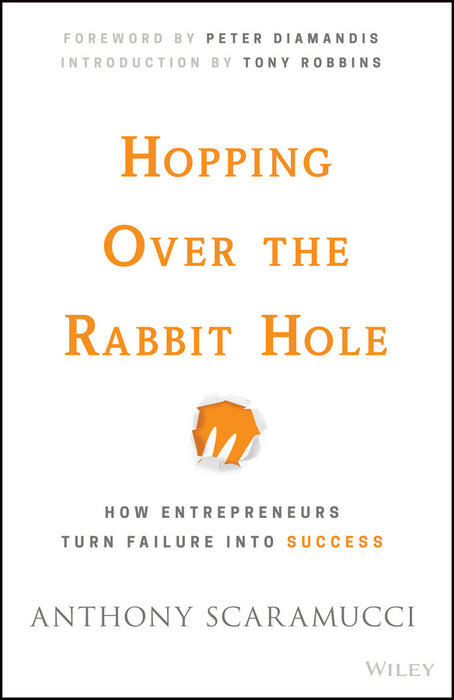 Hopping over the Rabbit Hole: How Entrepreneurs Turn Failure into Success (Hard Cover)